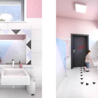 Toaleta w przedszkolu